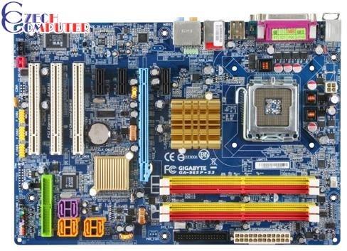 Gigabyte GA-965P-S3 - Intel P965