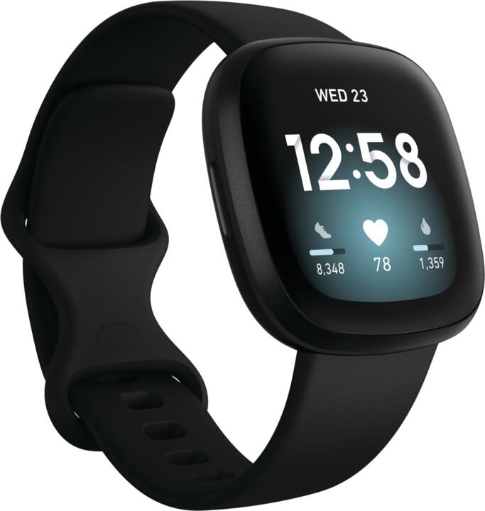 Fitbit Versa 3, Black