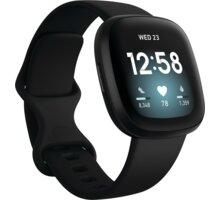 Fitbit Versa 3, Black Elektronické předplatné časopisů ForMen a Computer na půl roku v hodnotě 616 Kč