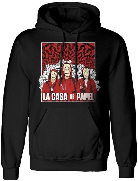 Mikina La Casa De Papel: Group Shot (S)