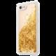 GUESS Liquid Glitter zadní kryt pro iPhone 7/8, Gold