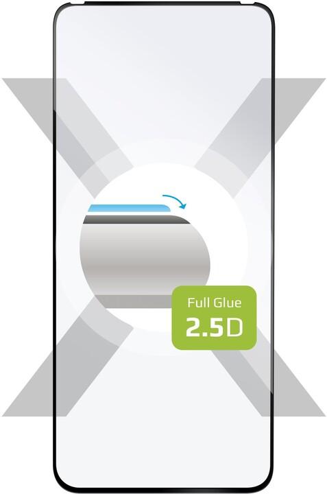 FIXED ochranné tvrzené sklo pro ASUS Zenfone 7 Pro, Full-Cover, 2.5D, černá