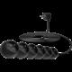 CONNECT IT prodlužovací kabel 230 V, 6 zásuvek, 5 m, bez vypínače, černá