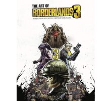 Kniha The Art of Borderlands 3