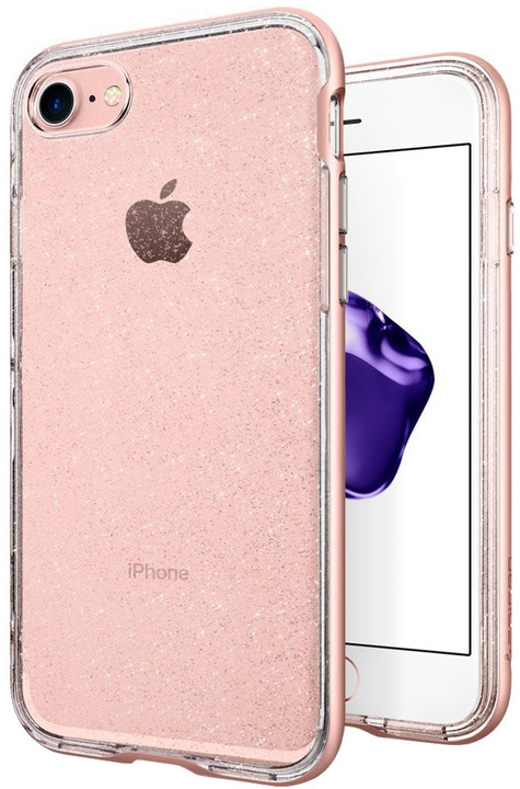 Spigen Neo Hybrid Crystal Glitter pro iPhone 7/8, rose