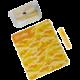 CELLY kapesní čistící set na displeje s pouzdrem Clean Kit Pochette 5 ml, žlutá