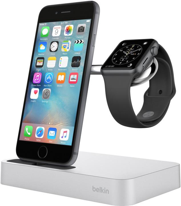 Belkin nabíjecí stojánek pro Apple Watch + iPhone