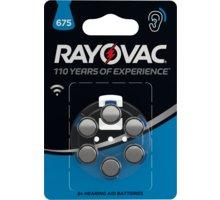 VARTA Rayovac 675 baterie do naslouchadel, 6ks - 4600745416
