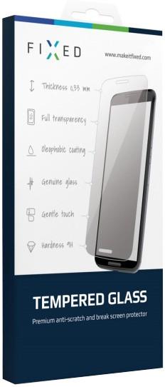 FIXED ochranné tvrzené sklo pro Apple iPhone 5/5S/5C/SE, 0.33 mm