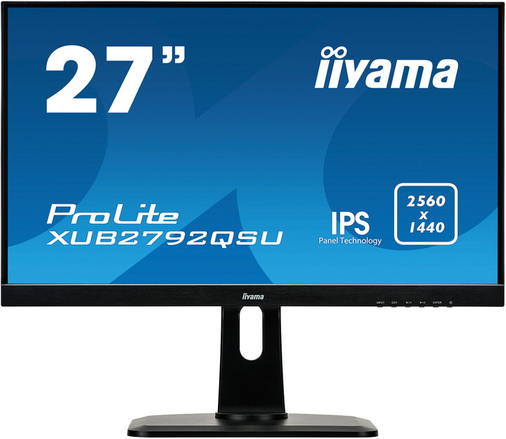 "iiyama ProLite XUB2792QSU-B1 - LED monitor 27"""