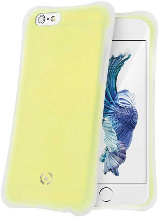 CELLY ICECUBE zadní kryt pro Apple iPhone 6S Plus, žlutý