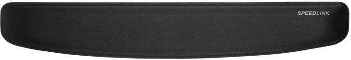 Speed Link Sateen opěrka zápěstí, černá, ergonomická