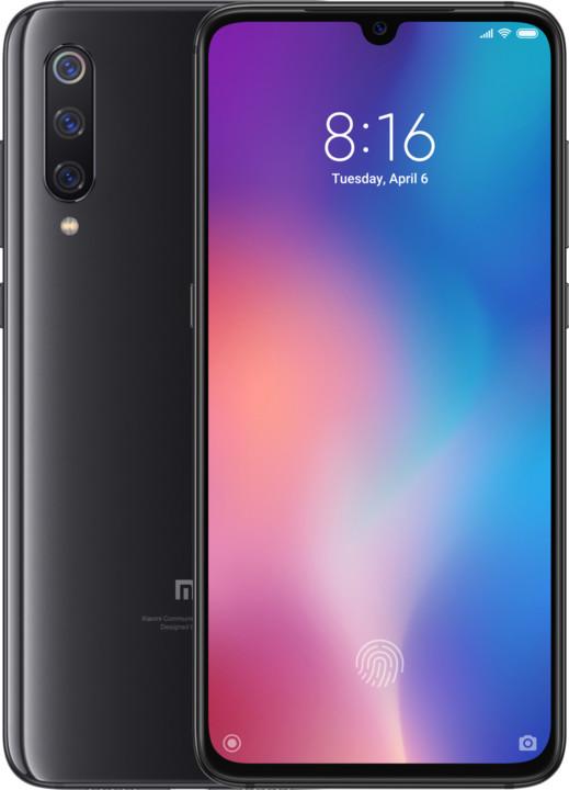 Xiaomi Mi 9, 6GB/64GB, černá