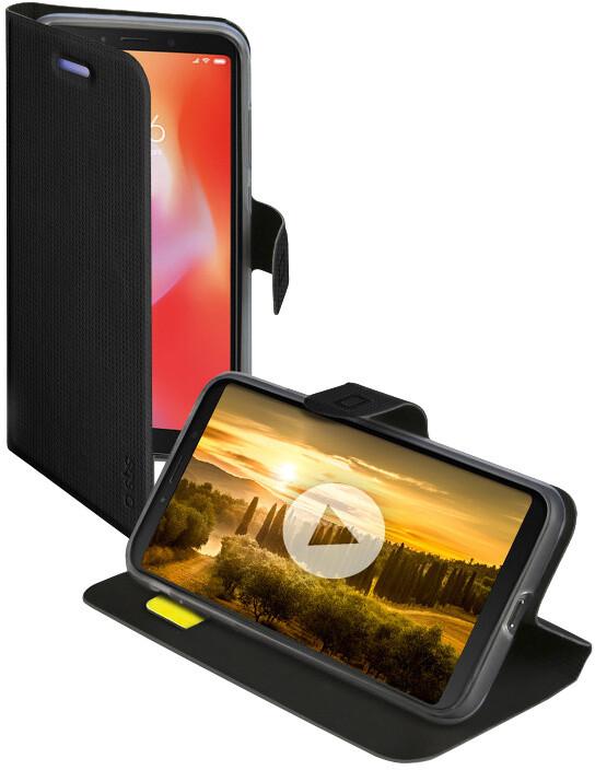 SBS Pouzdro Book Sense pro Xiaomi Redmi 6A, černá