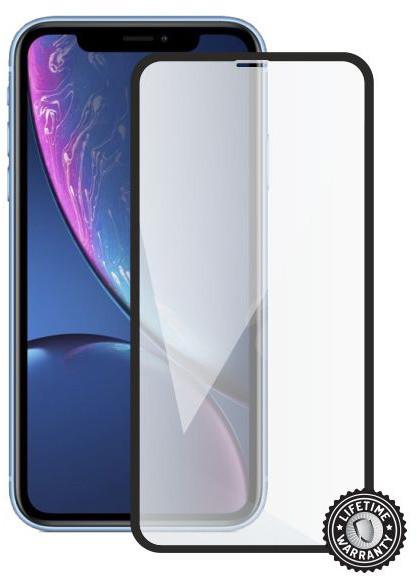 Screenshield ochrana displeje Tempered Glass pro Apple iPhone Xr, černá