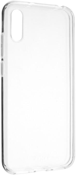 FIXED TPU gelové pouzdro pro Huawei Y6 (2019), čiré