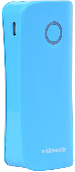 Whitenergy Power Bank 4000mAh 2.1A Li-Ion, modrá