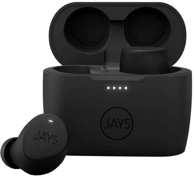 JAYS m-Five TWS, špunty, černá