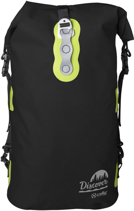 CELLY voděodolný outdoor batoh Discover 20L, černá