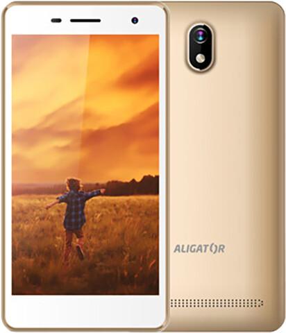 Aligator S5065 Duo - 8GB, Dual Sim, zlatá