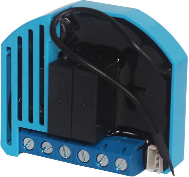 QUBINO ovladač žaluzií, oken, vestavný, 230V, připojení tep. senzoru, Z-Wave plus