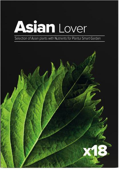 Plantui Asian Lover, 18 kapslí, výběr rostlin z Asie