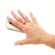 FIXED Ring prstýnek se stojánkem a držákem pro mobilní telefony, černý