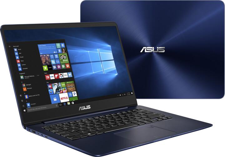 ASUS ZenBook UX430UA, modrá