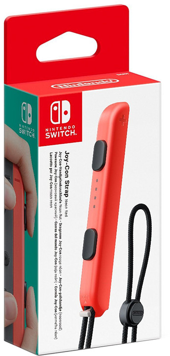 Nintendo Joy-Con Strap, červený (SWITCH)