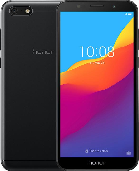 Honor 7S, 2GB/16GB, černý