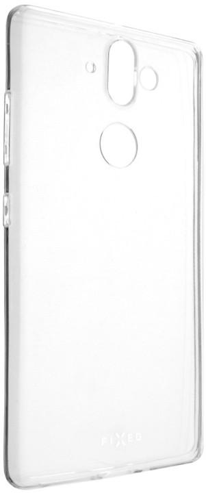 FIXED Skin ultratenké TPU gelové pouzdro pro Nokia 9, 0,5 mm, čiré