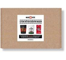 Dárkový balíček MASO HERE - Krabice plná sušeného masa, velký, 574g