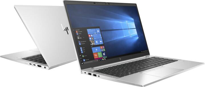 HP EliteBook 845 G7, stříbrná
