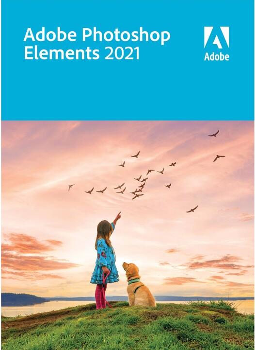 Photoshop Elements 2021 CZ - lic. krabicová