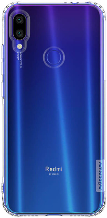Nillkin Nature TPU Pouzdro pro Xiaomi Redmi Note 7, transparentní