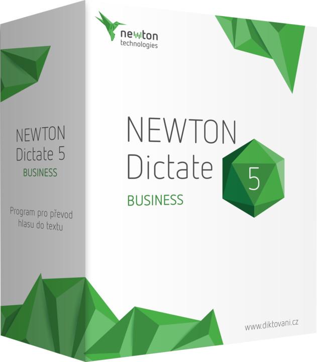 NEWTON Dictate 5 Business, 1 PC, bez časového omezení