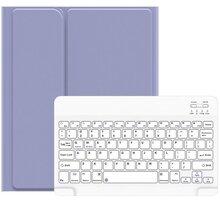 """Usams ochranný kryt s klávesnicí BH655 pro Apple iPad Air 10.9"""", fialová/bílá - 57983102526"""