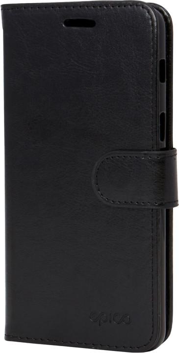 Kožené pouzdro pro Samsung S9 Plus EPICO FLIP - černé