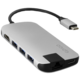 EPICO USB Type-C Hub Multi-Port 4k HDMI & Ethernet - silver