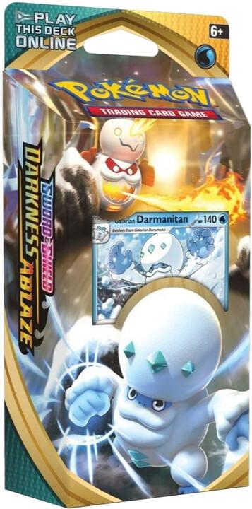 Karetní hra Pokémon TCG: Sword and Shield Darkness Ablaze - Darmanitan (Starter set)