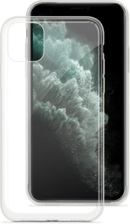 EPICO twiggy gloss ultratenký plastový kryt pro iPhone 11 Pro Max, bílá transparentní