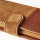 Holdit Wallet case Samsung Galaxy S7 - Brown Leath/Suede
