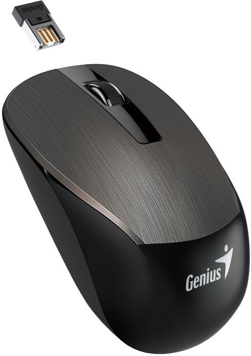Genius NX-7015, bezdrátová, hnědá