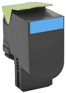 Lexmark 80C20C0, cyan, return