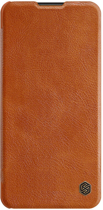 Nillkin pouzdro Qin Book pro Samsung Galaxy A21, hnědá