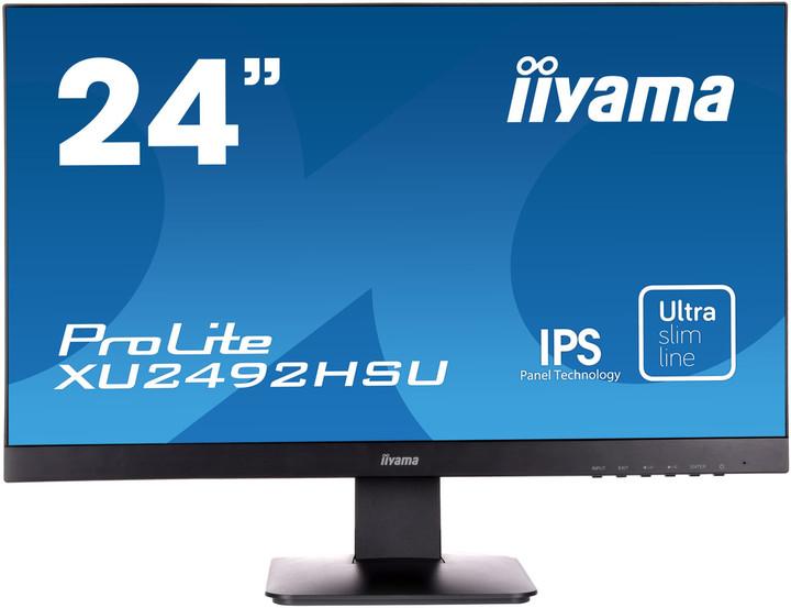 "iiyama XU2492HSU-B1 - LED monitor 24"""