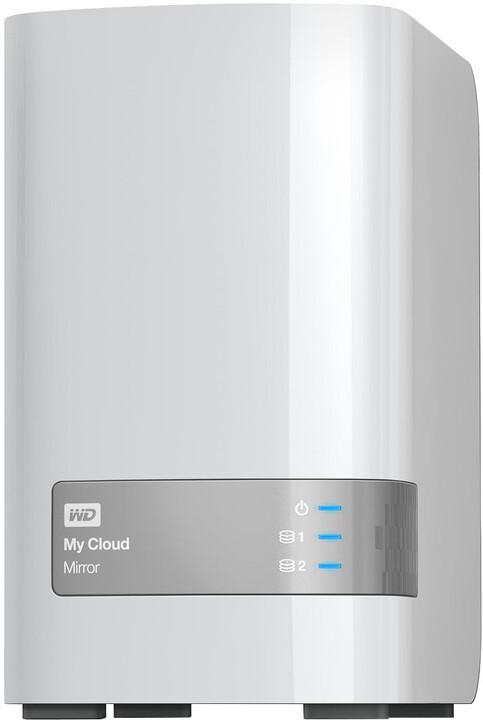 """WD My Cloud Mirror, 3,5"""", USB3.0 - 16TB, bílá"""