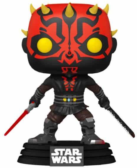 Figurka Funko POP! Star Wars: Clone Wars - Darth Maul with Saber Special Edition