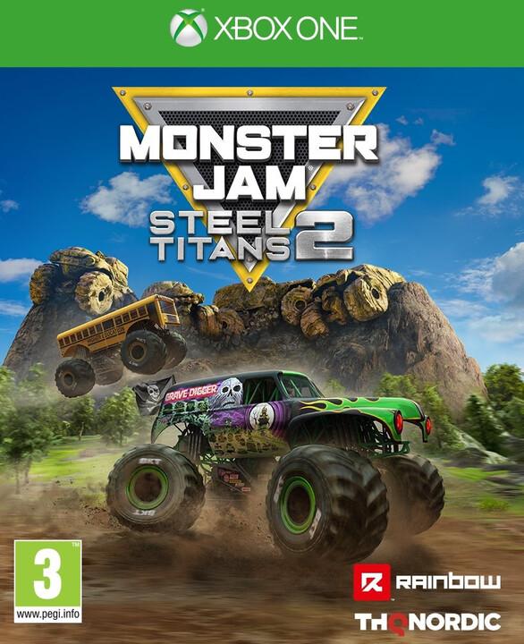 Monster Jam Steel Titans 2 (Xbox ONE)