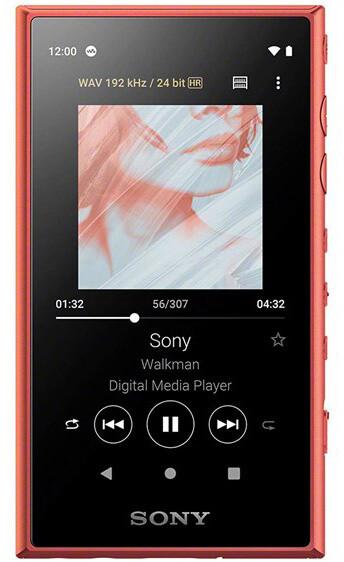 Sony NW-A105L - 16GB, oranžová